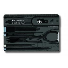 SwissCard Classic black transculent