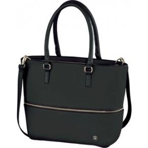Damen Tasche mit abnehmbarer Laptoptasche Wenger Eva 13`, schwarz / marineblau