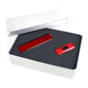 Set PWEG S50 - Power Bank + USB-Stick Silicon Power 16GB