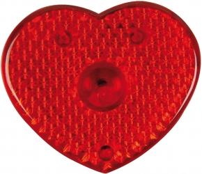 Herzförmiges Ansteckblinklicht