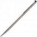 Kugelschreiber aus Edelstahl mit Touchpad