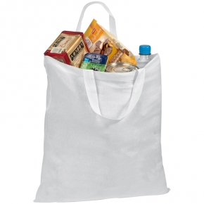 Cotton bag - short handles