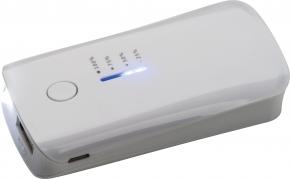 Powerbank 4000 mAh mit USB Anschluss, inkl. Ladekabel