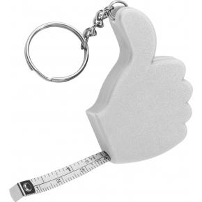 Schlüsselanhänger mit Bandmaß