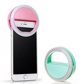 LED ring selfie light