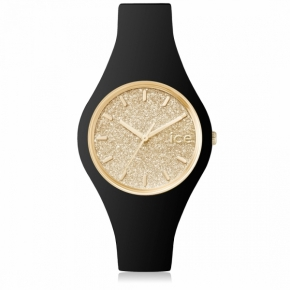 Armbanduhr ICE glitter-Black Gold-Small