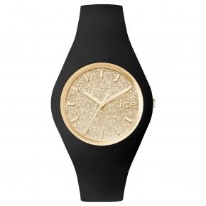 Armbanduhr ICE glitter-Black Gold-Medium