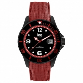 Armbanduhr ICE steel-Black red-Large Rot