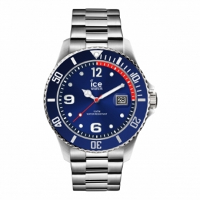 Armbanduhr ICE steel-Blue silver-MediumMulticolor
