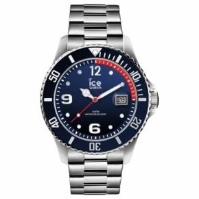 Armbanduhr ICE steel-Marine silver-Large (L)Multicolor