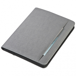 Conference folder A4 with power bank 5000 mAh