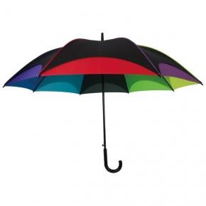 Bunter Regenschirm