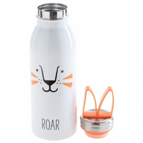 ALADDIN ZOO THERMAVAC STAINLESS STEEL WATER BOTTLE 0,43 L