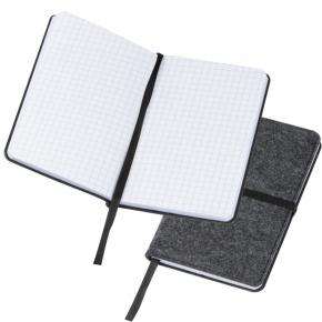 Notizbuch aus Filz A6