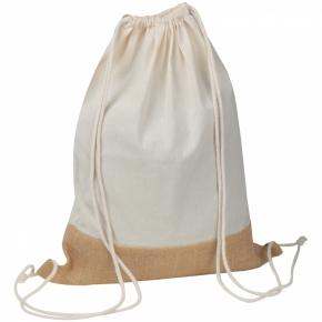 ÖKO-Tex zertifizierte Gymbag mit Juteboden