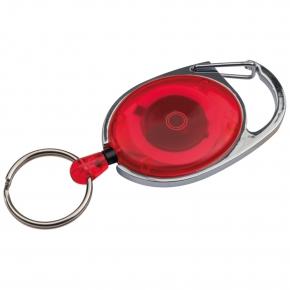 Schlüsselanhänger mit Karabiner und ausziehbarem Schlüsselring
