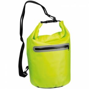 Wasserdichte Tasche mit reflektierendem Streifen