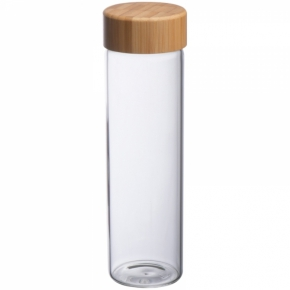 Glasflasche mit Bambusdeckel  Santa Cruz