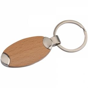 Metall-Holz-Schlüsselanhänger Baltrum