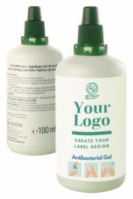 100ml antibakterielles Gel 48h!