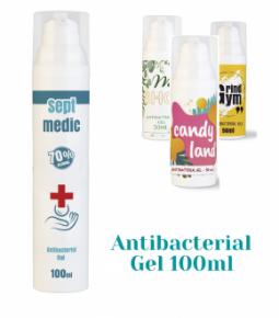 100 ml antibakterielles Gel