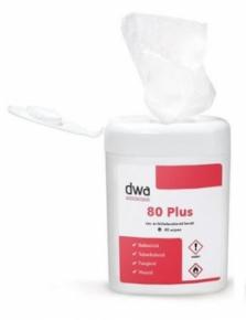 Antibakterielle Tücher Tube 40pcs