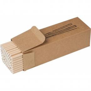 Set mit 100 Papiertrinkhalmen