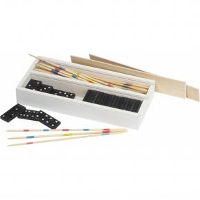 Spiel mikado und domino