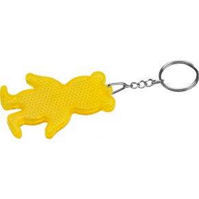 Reflektierender Schlüsselanhänger