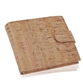 Cork wallet, for men