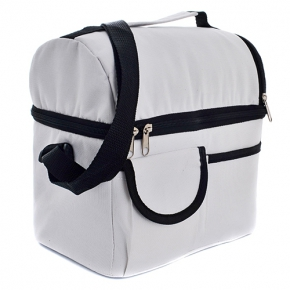 Cooler bag with 2 compartments, P-600D