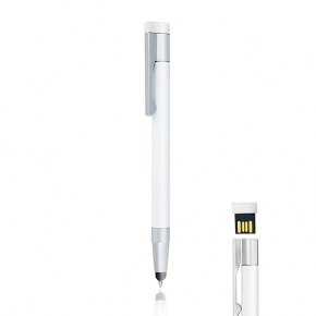 Metal ball pen, with touch, USB 8Gb, gift box