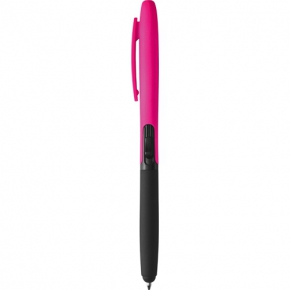 Plastic ball pen, with touch