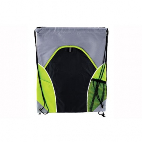 String bag with 2 pockets PVC-210D