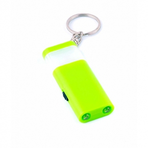 Key ring with 4 LED lights