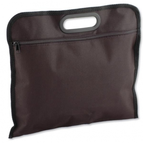 P-600D document bag with plastic handle