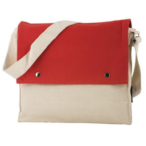 Document bag with adjustable strap