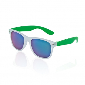 Glow sunglasses, mirrored lenses with UV400 protection