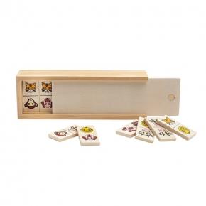 Children´s wooden domino