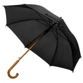 P-190T automatic umbrella, with wooden handle
