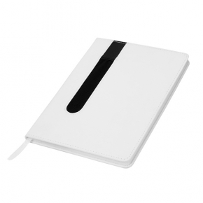 PU notebook, with pen holder